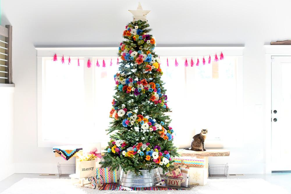 Floral Christmas Tree Dream Challenge Sugar Bee