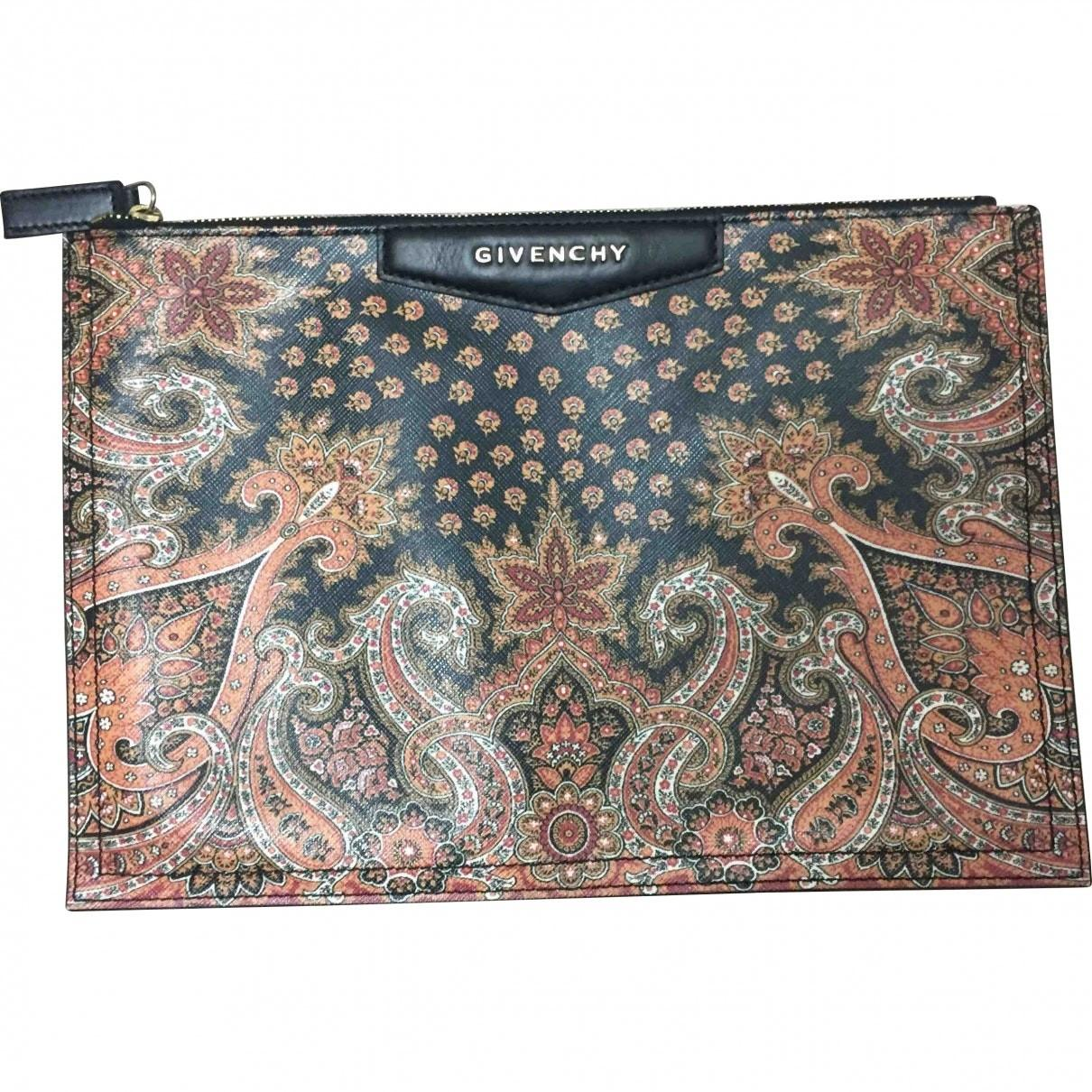 Floral Leather Givenchy Clutch Bag Vestiaire Collective