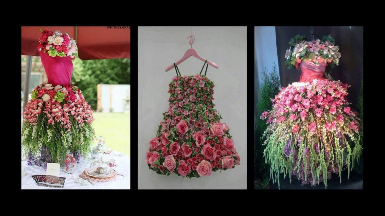 Floral Tree Dress Inspiration Spring Mannequin