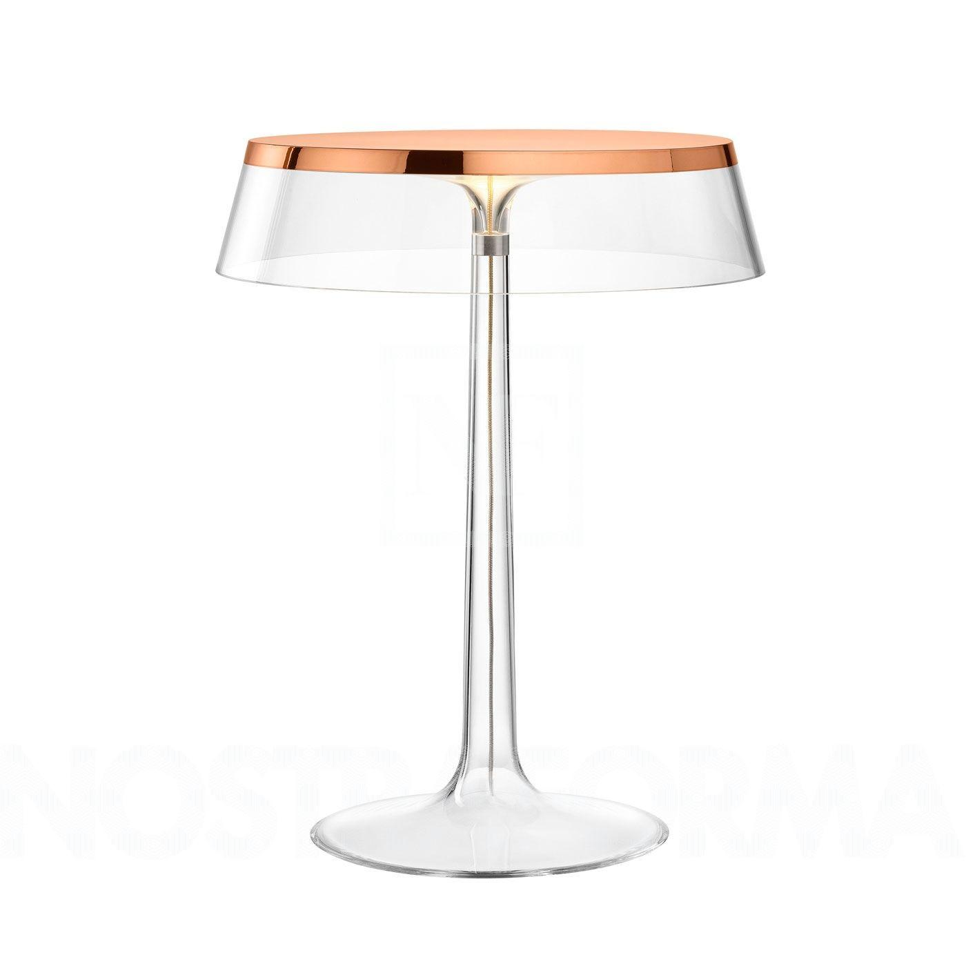Flos Bon Jour Table Lamp Coppered Cover Modern