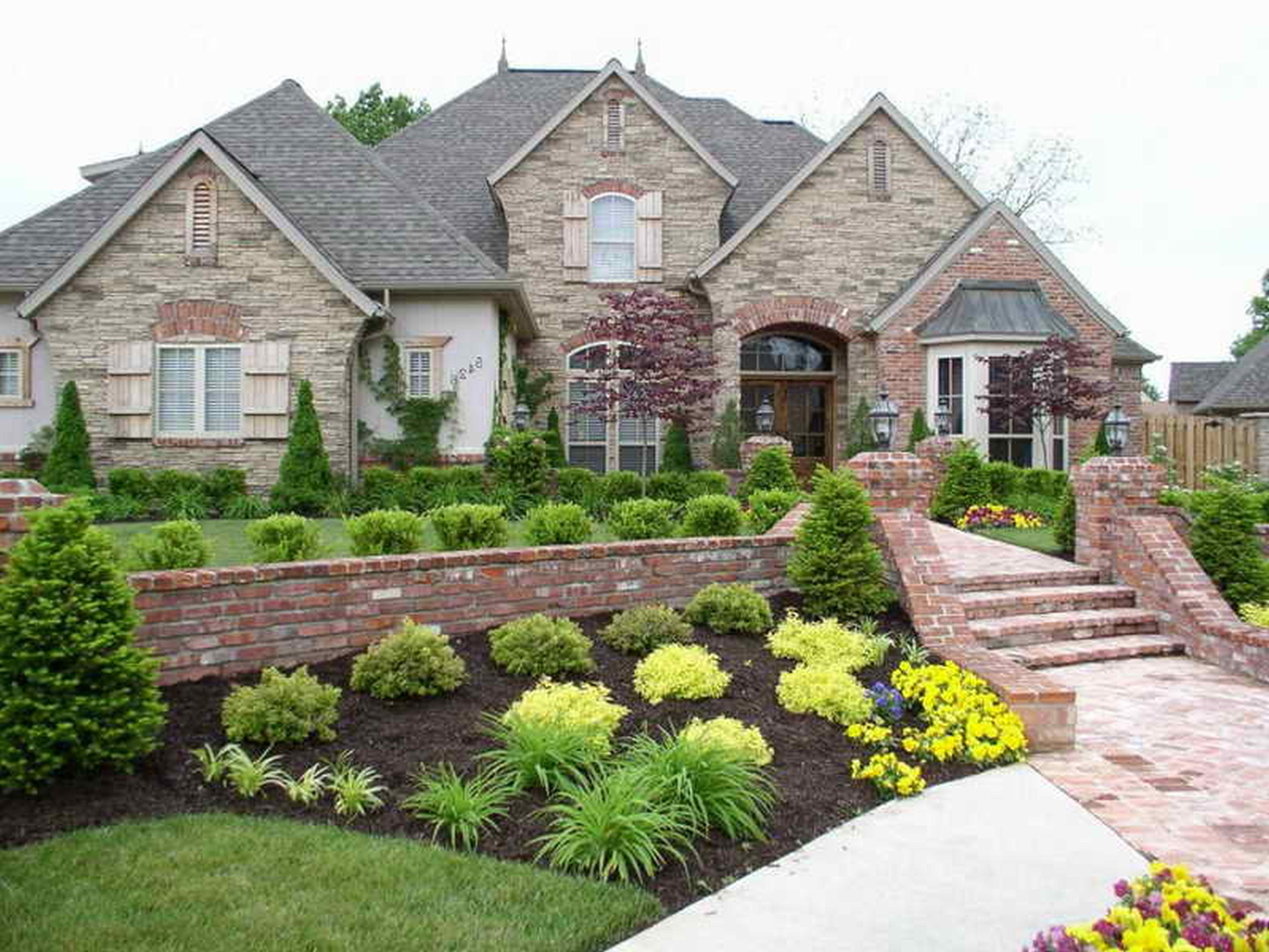 Flower Bed Ideas Front Houseliving Room Best