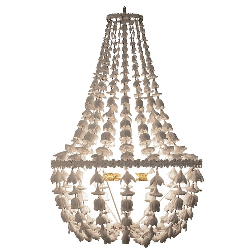 Flower Drop Chandelier Southhillhome