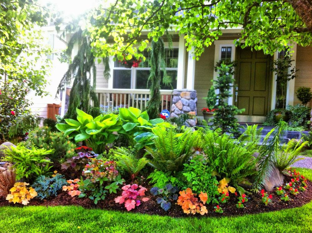 Flower Garden Design Makes Environment Beautiful Home