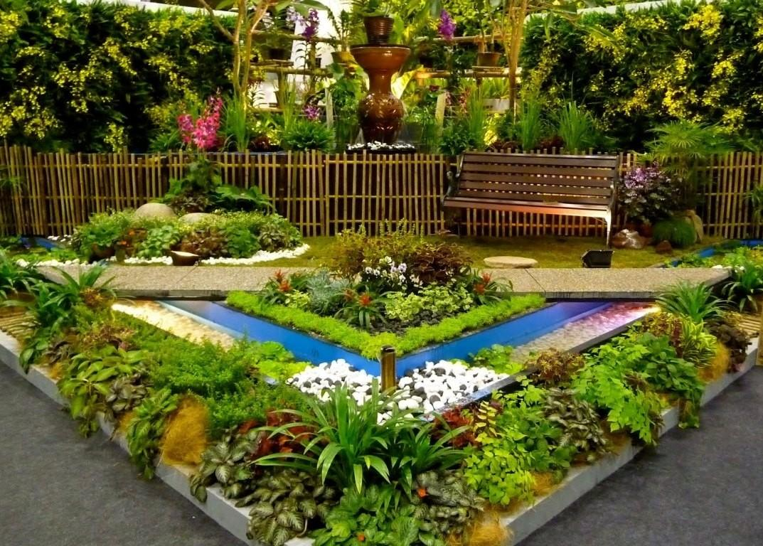 Flower Garden Ideas Small Yards Idea