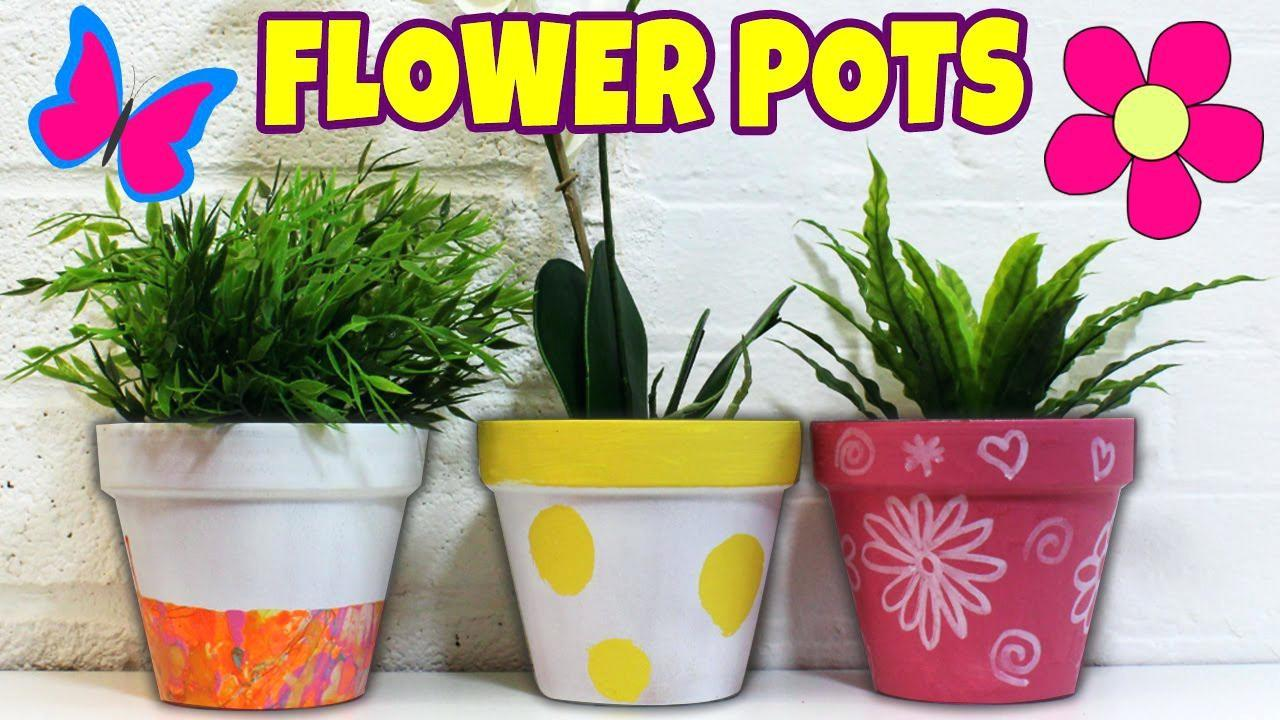 Flower Pot Painting Designs Pixshark