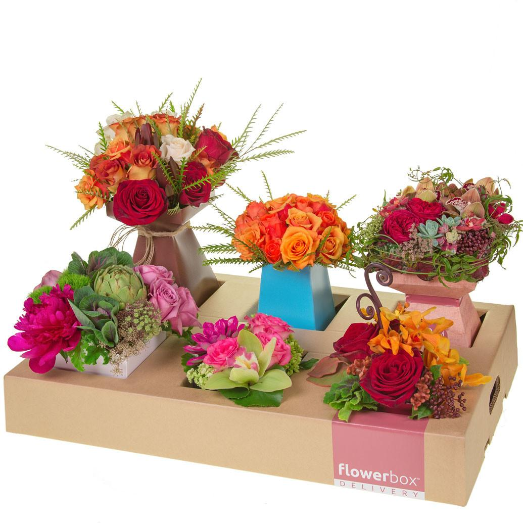 Flowerbox Delivery Box Tray