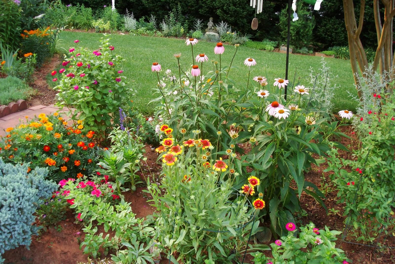 Flowers Nature Garden Flower Beds