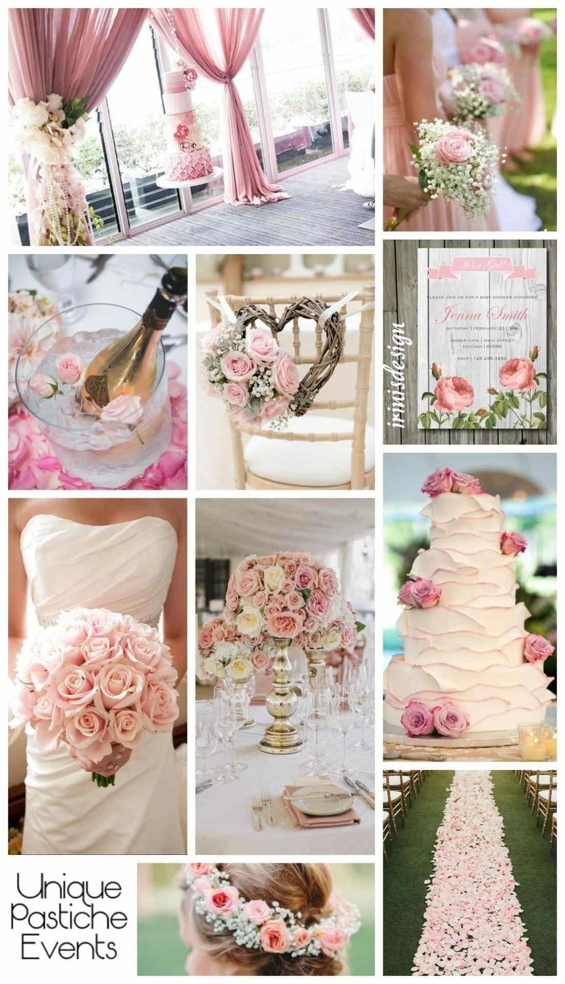 Flowers Spring Wedding Themes Pink Decor Real Style