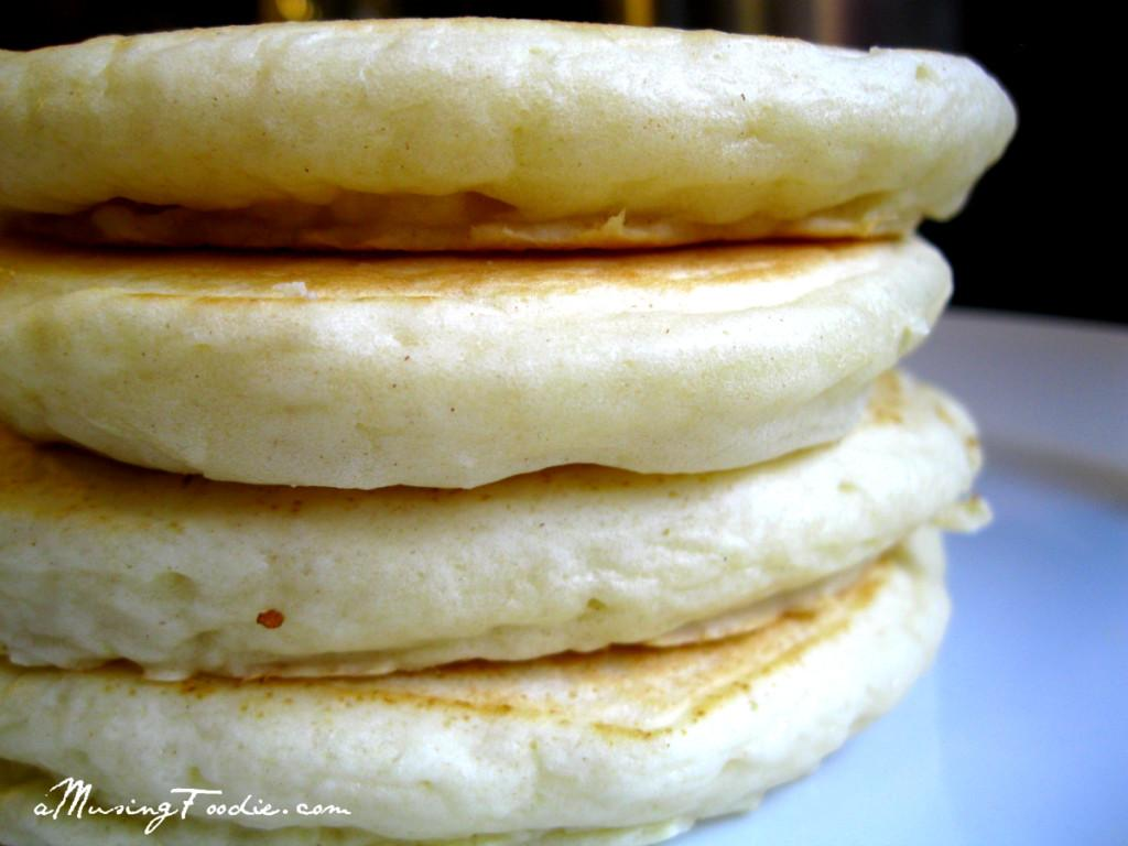 Fluffy Homemade Pancakes Musing Foodie