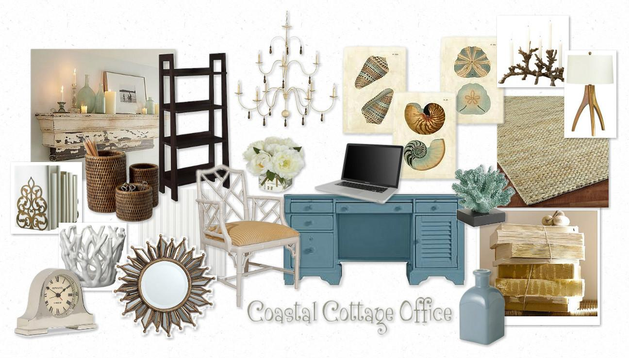 Focal Point Styling Coastal Cottage Moodboard Challenge