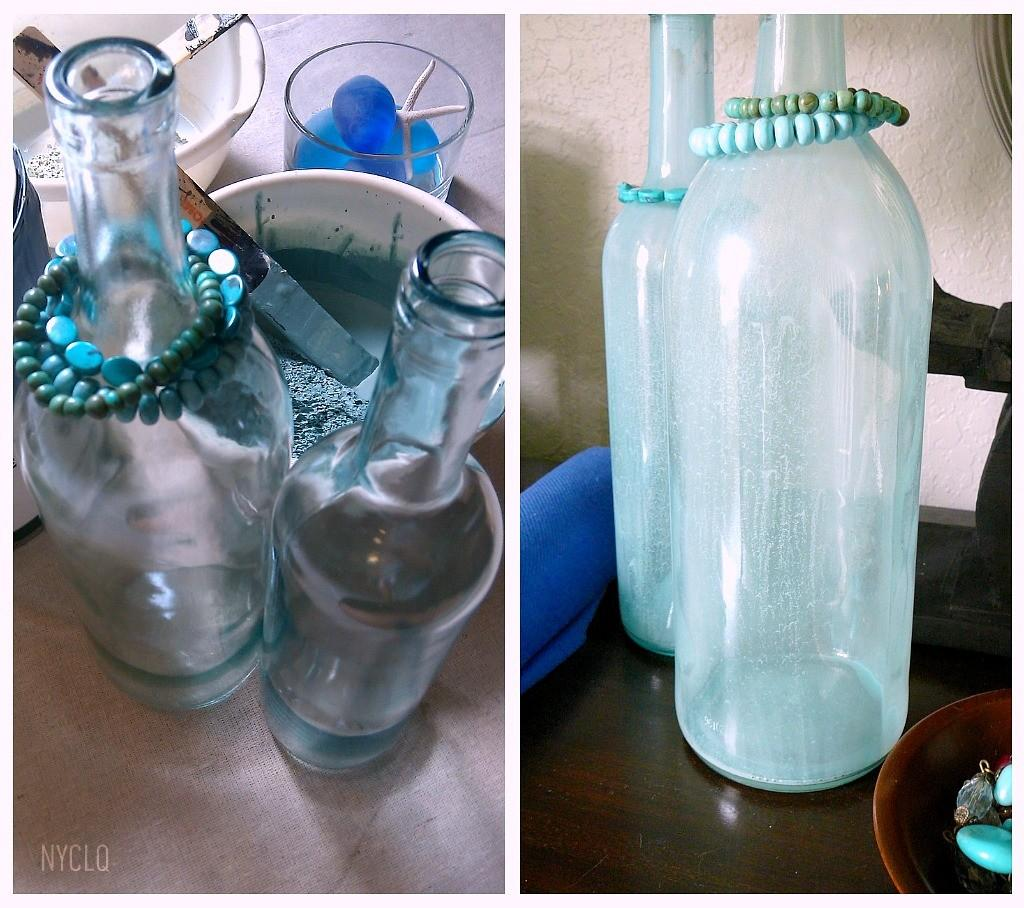 Focal Point Styling Diy Beachy Bottles Seaside Style