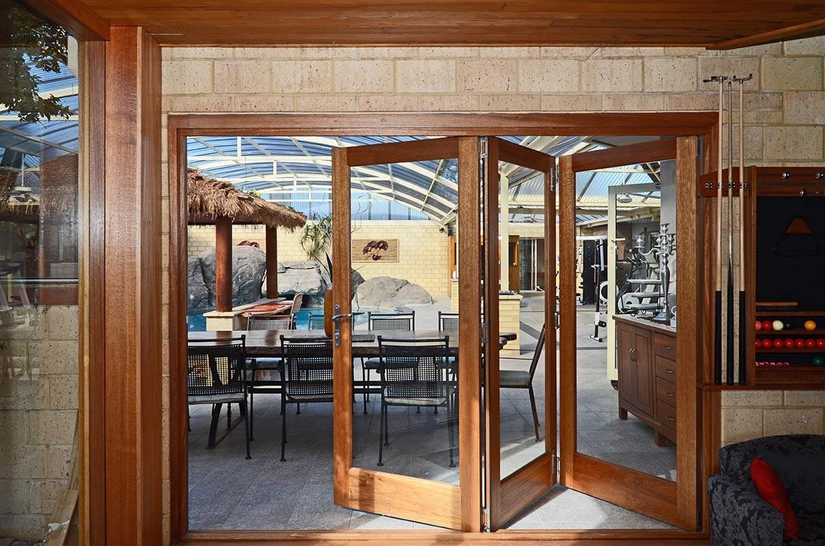 Fold Doors Timber Wood Bifold