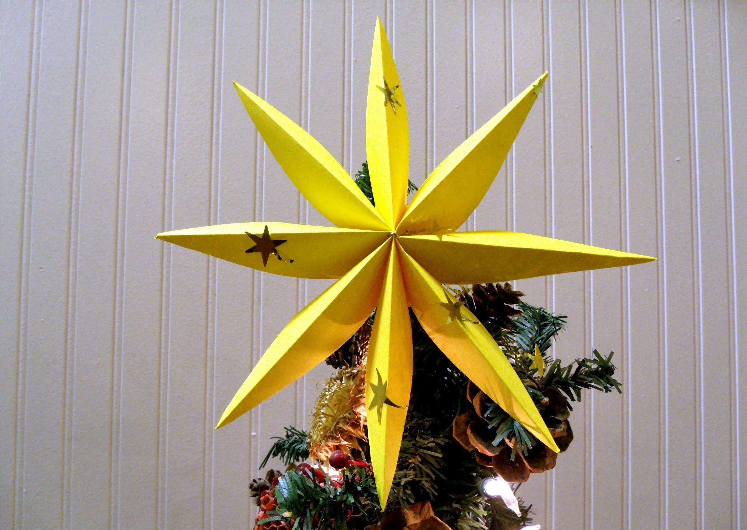 Fold Star Christmas Tree Decoration