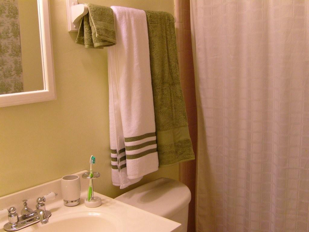 Fold Towels Keep Them Hanging Straight Your