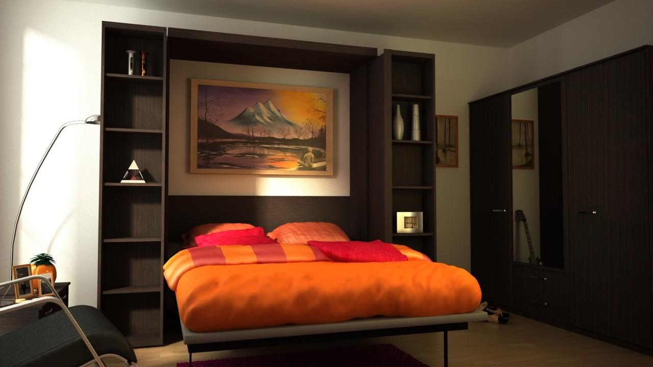 Fold Wall Bed Brand New Style Have Comfortable