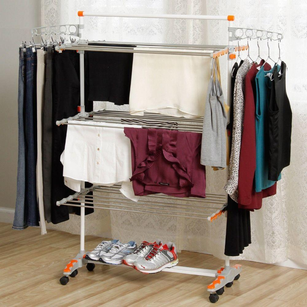 Foldable Laundry Heavy Duty Compact Storage Drying