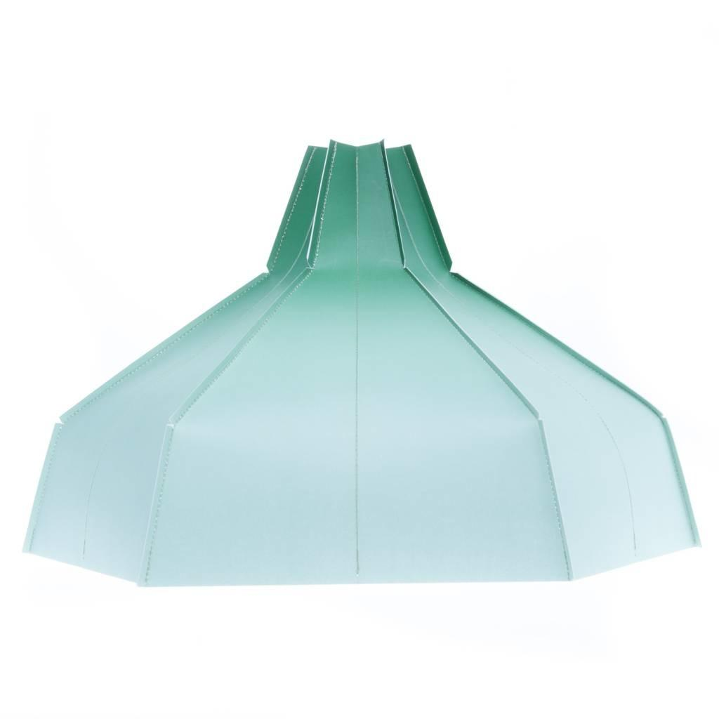 Folded Lampshade Green Gradient Tiny Miracles