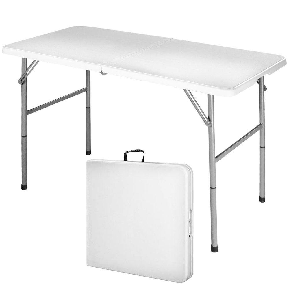 Folding Table Portable Indoor Outdoor Picnic Party
