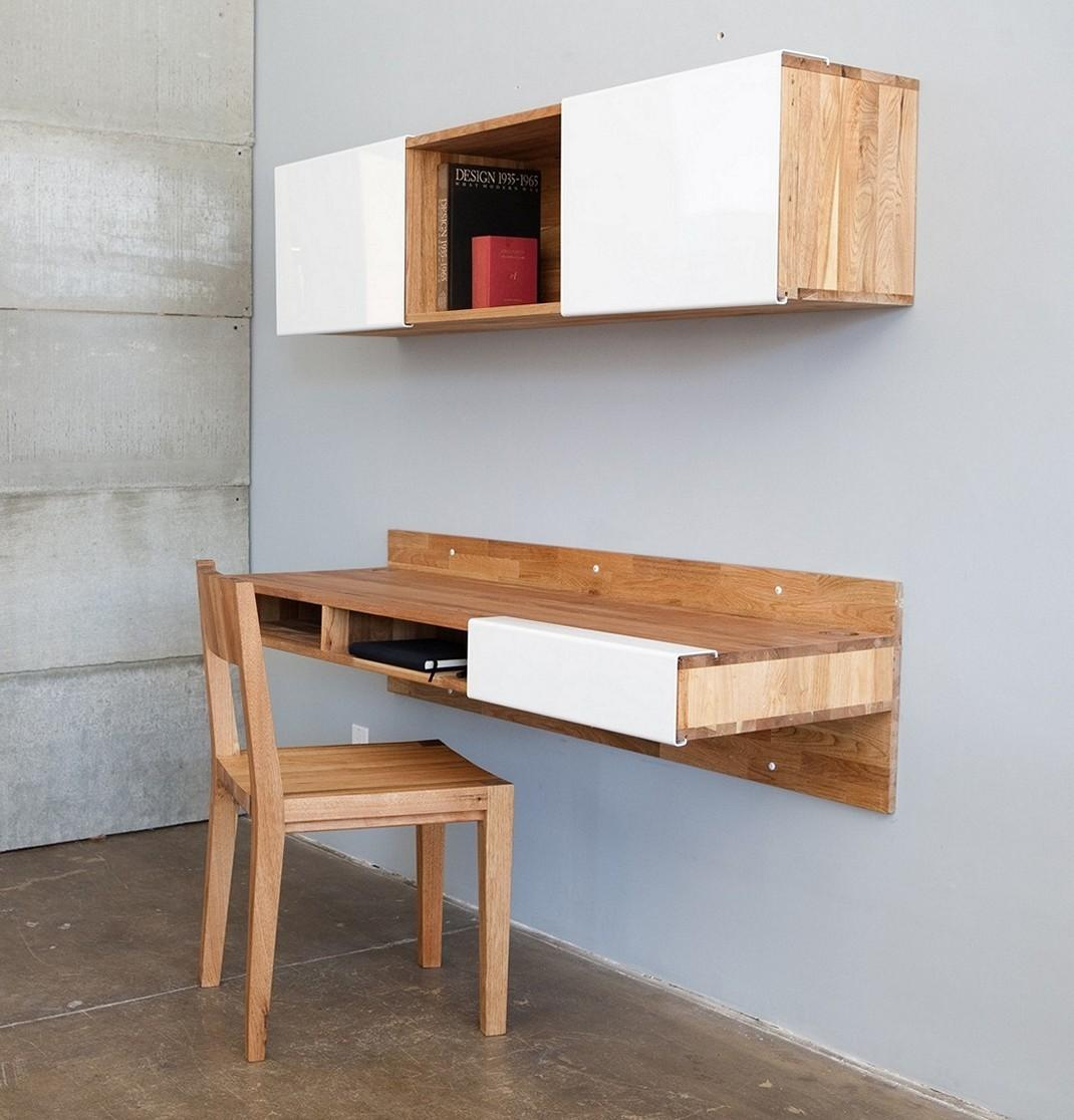 Folding Wall Table Ideas Save Precious Spaces Tiny