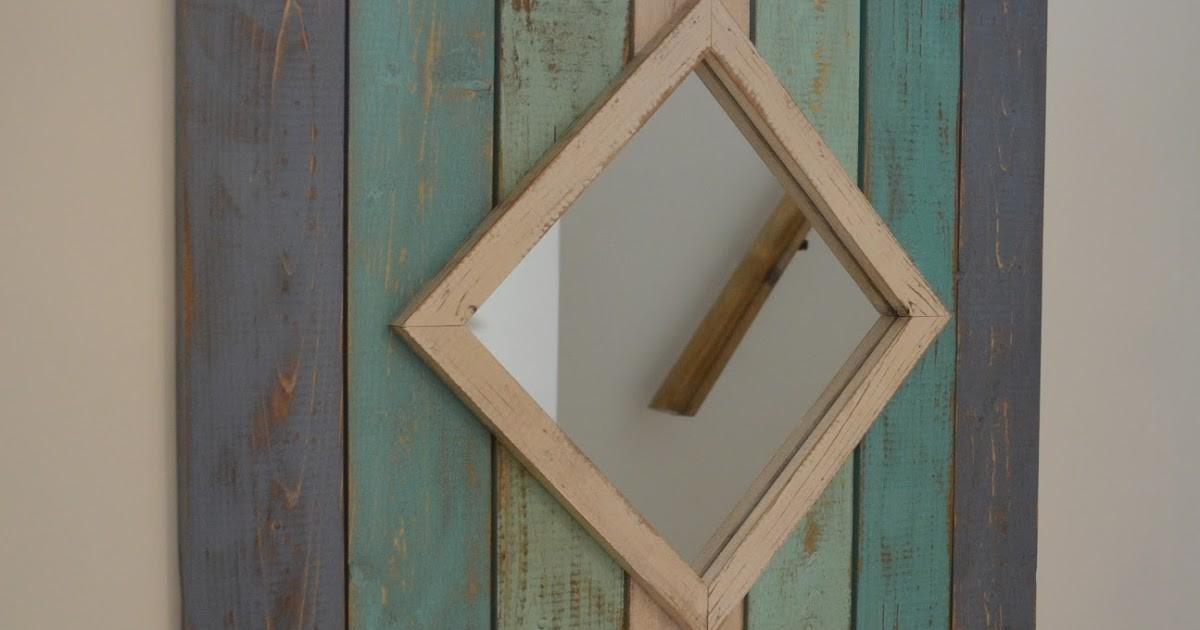 Follow Your Heart Woodworking New Beach Style Mirror