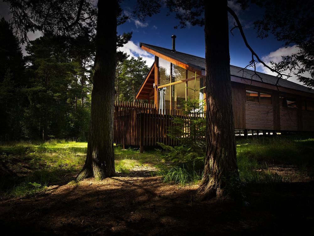 Forest Holidays Cropton Yorkshire Luxury Woodland