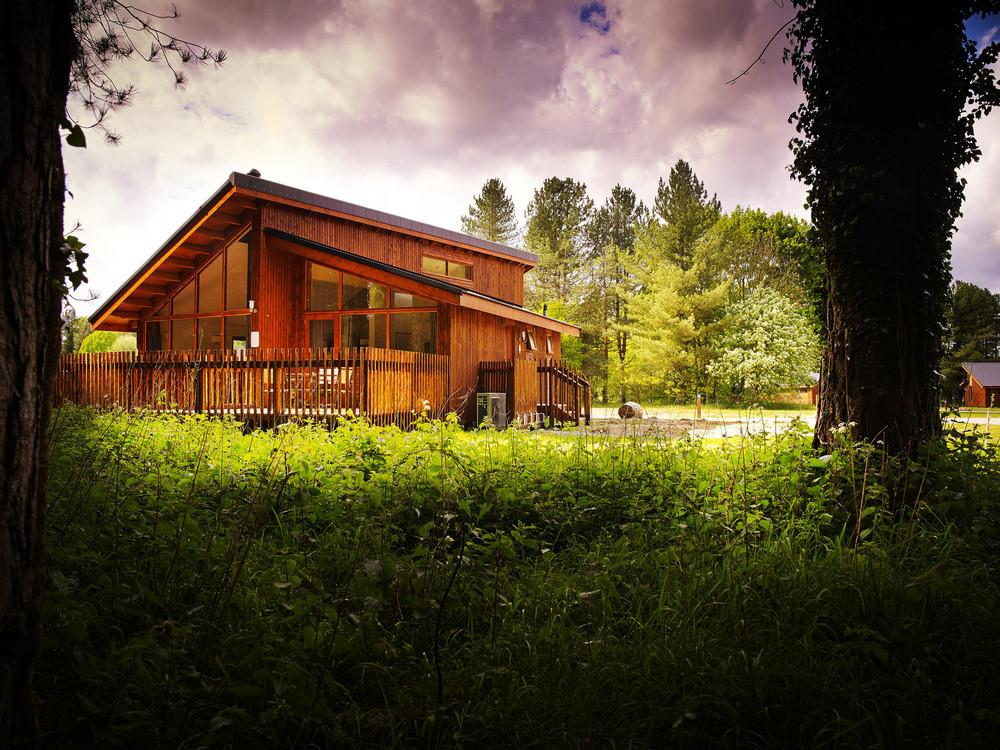 Forest Holidays Thorpe Norfolk Luxury Woodland