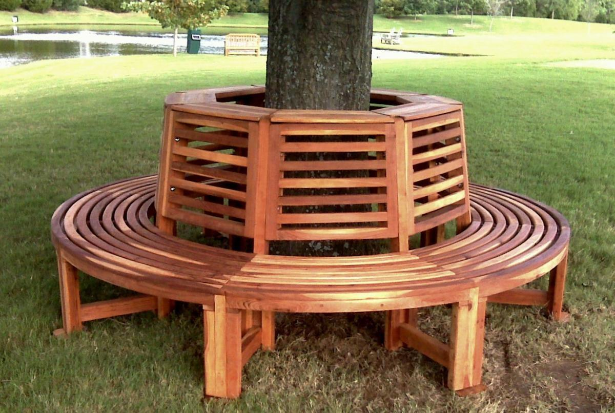 Forever Tree Bench Built Last Decades Redwood