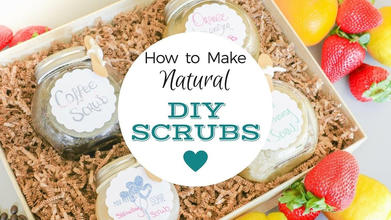Four Natural Diy Sugar Scrubs Crafts Projects