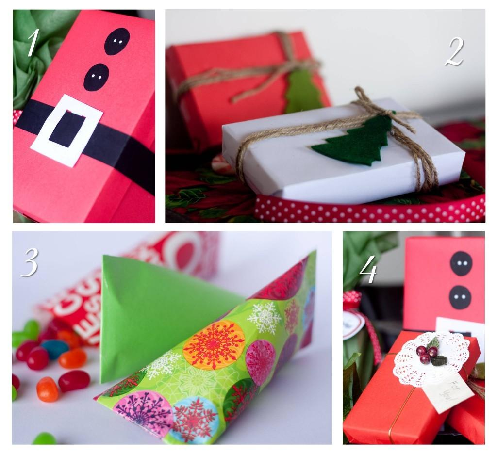 Four Simple Diy Gift Wrapping Ideas Lola Party Tips