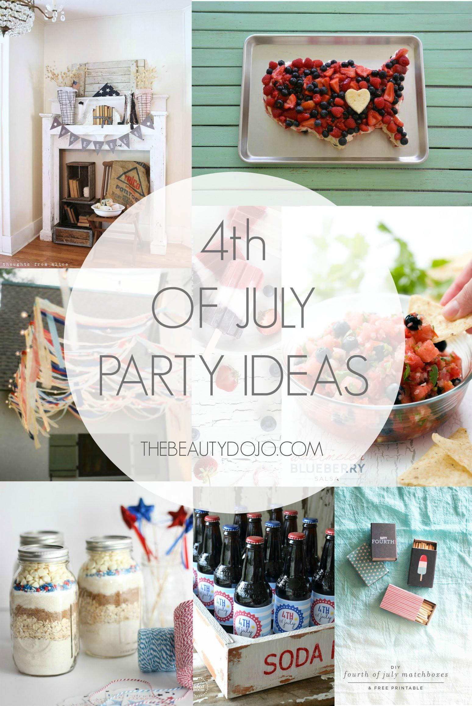 Fourth July Party Ideas