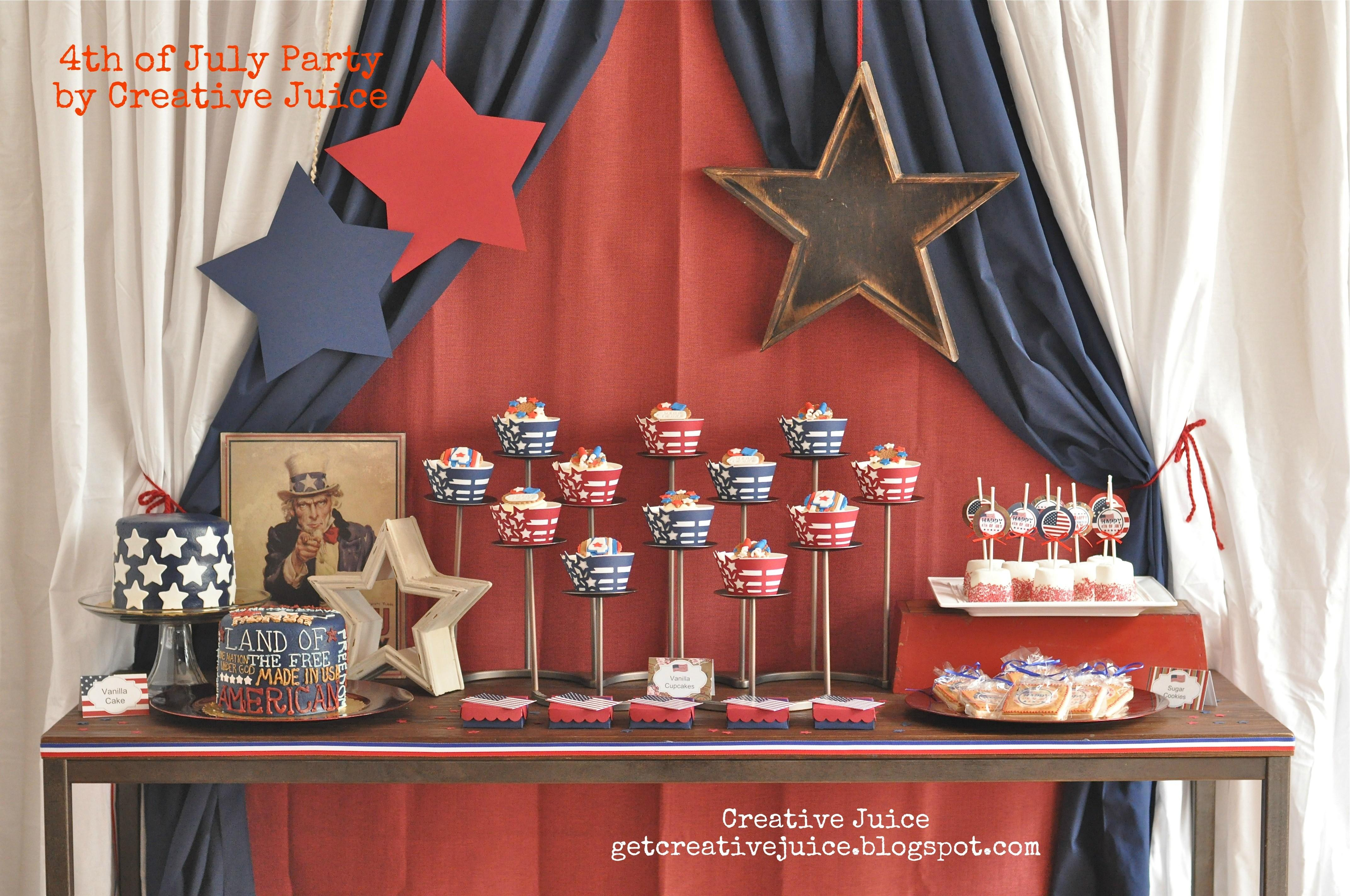 Fourth July Party Ideas Spaceships Laser Beams