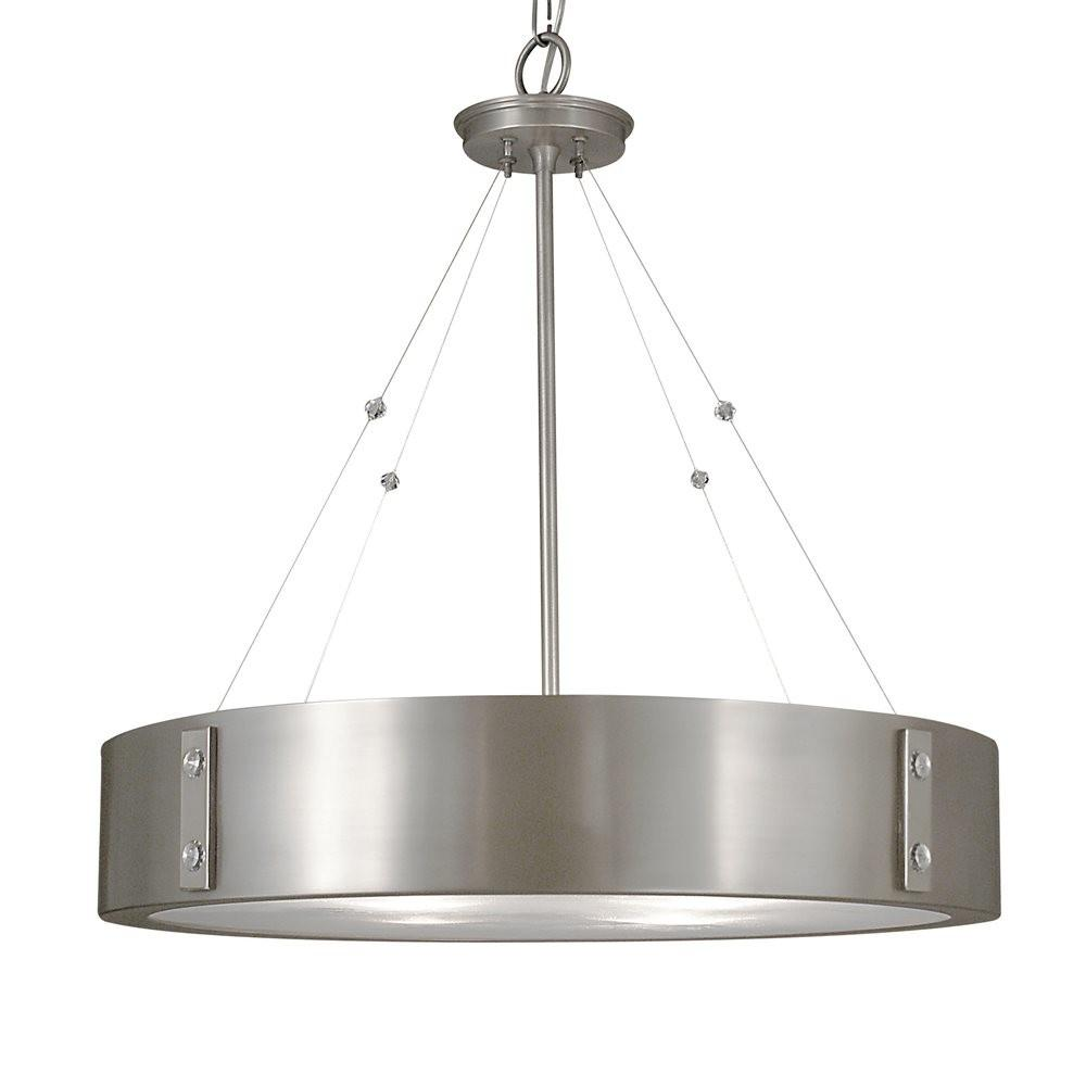 Framburg 5395 Light Oracle Drum Large Pendant Atg Stores
