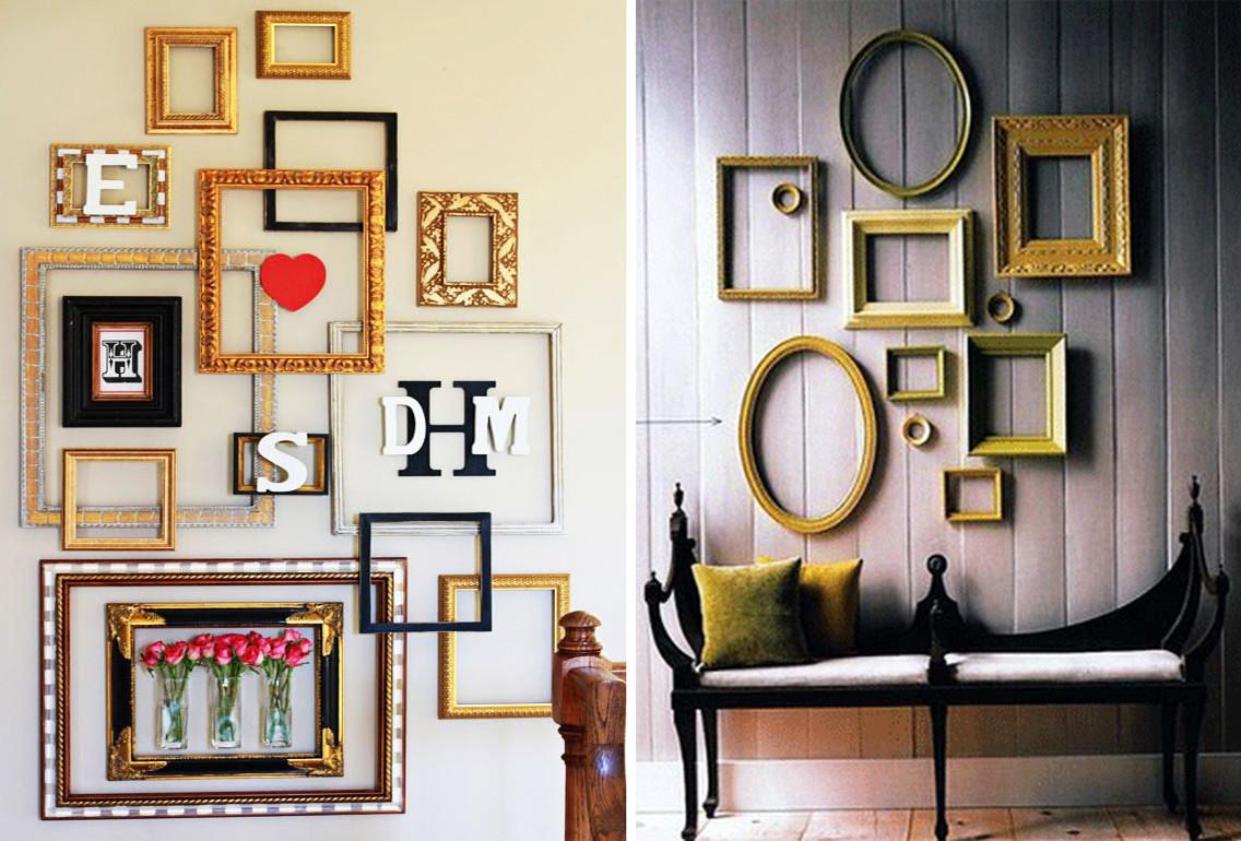 Frame Wall Collage Ideas Bedroom Mounted