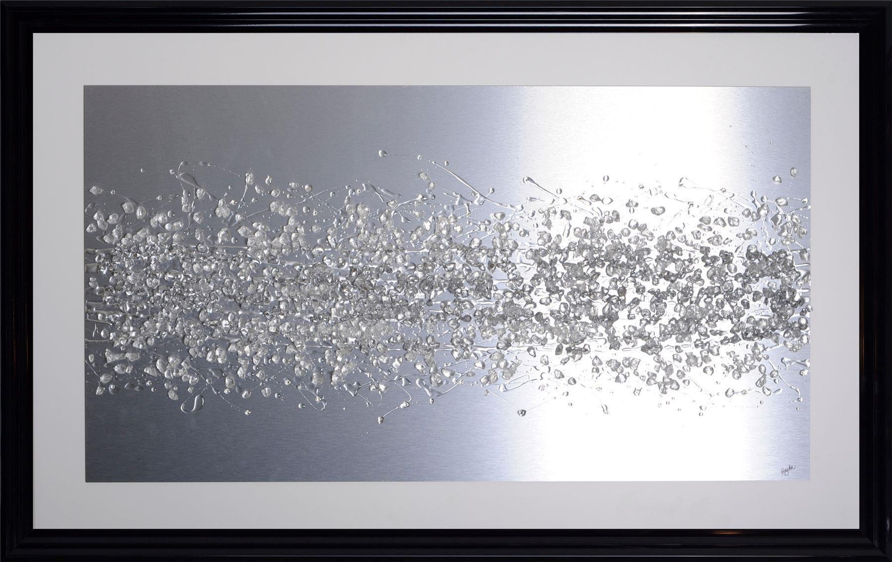 Framed 1wall Aluminium Liquid Wall Art