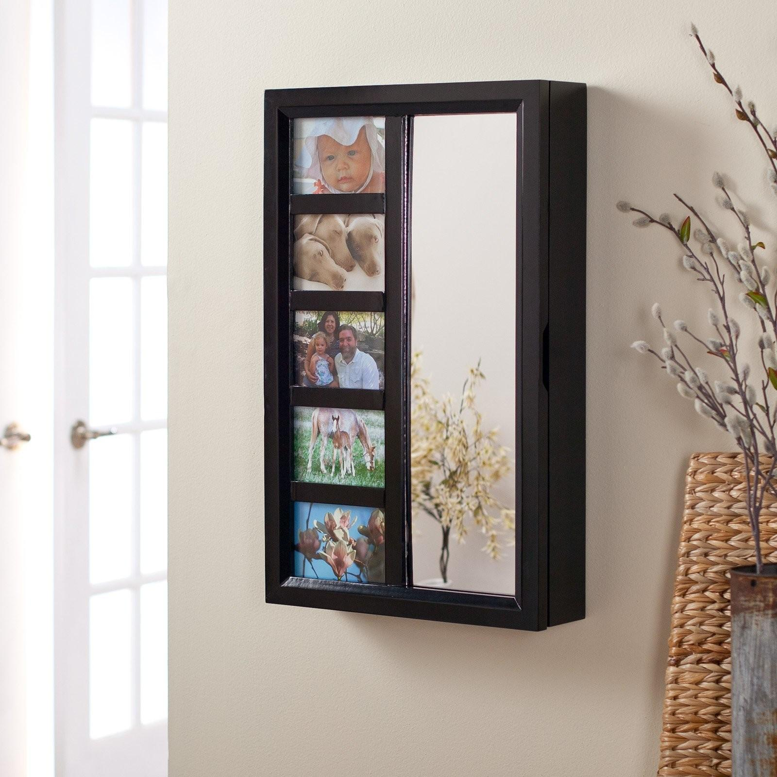Frames Wall Mount Jewelry Armoire Mirror High