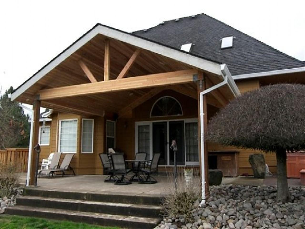 Framing Gable Roof Porch Best 2017