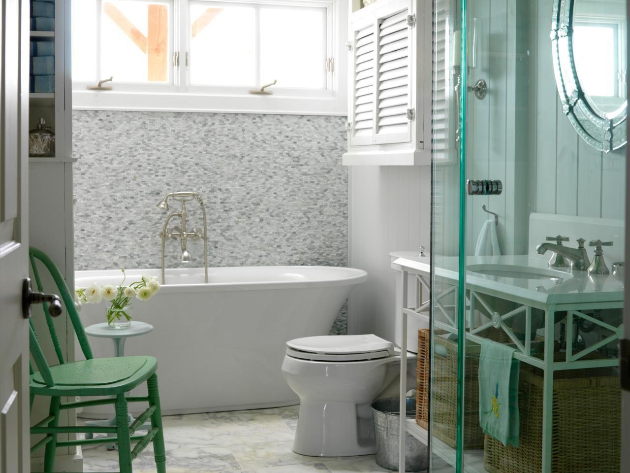 Freestanding Bath Small Bathroom Cottage