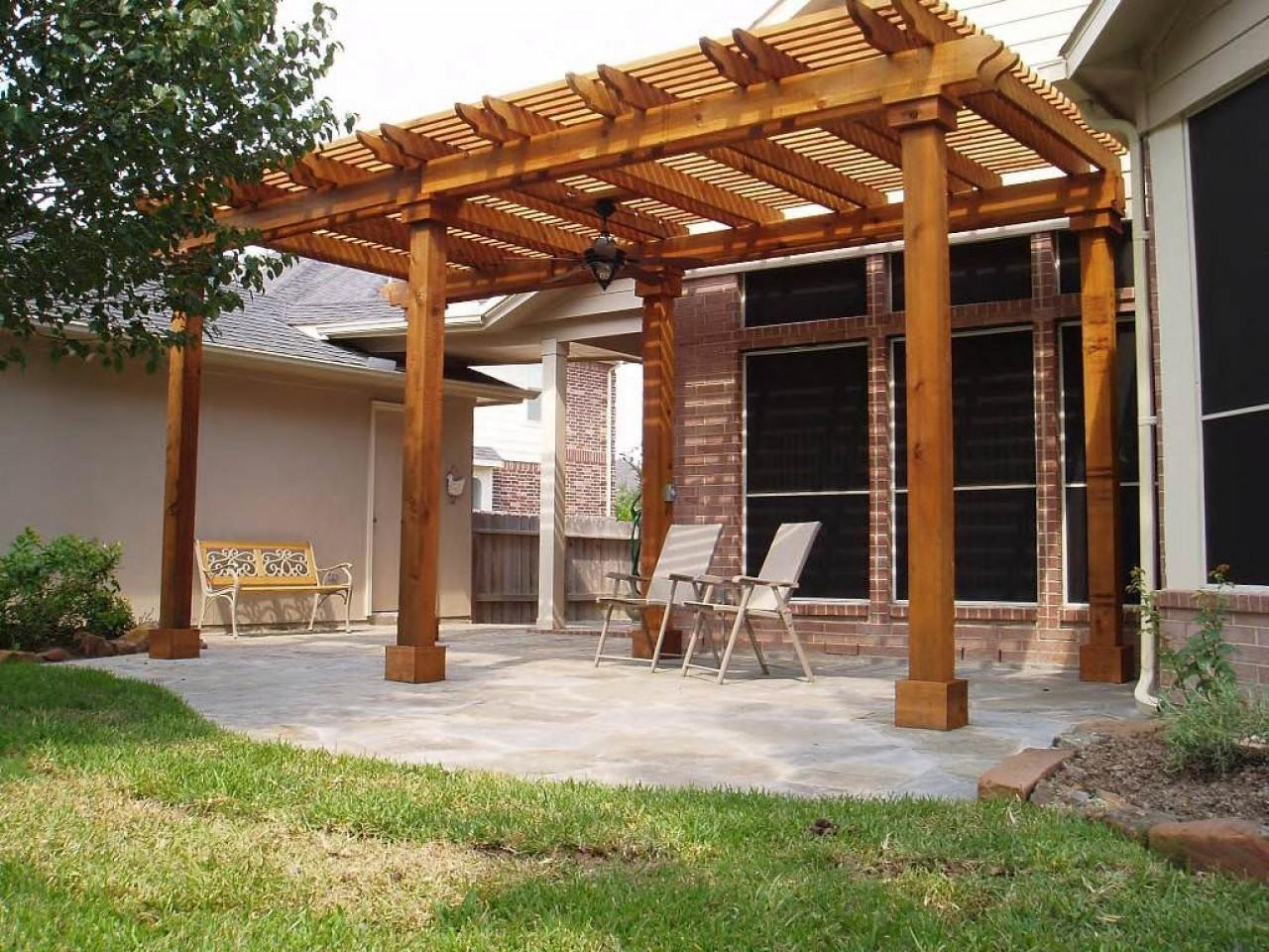 Freestanding Deck Roof Patio Design Covers Diy Easy