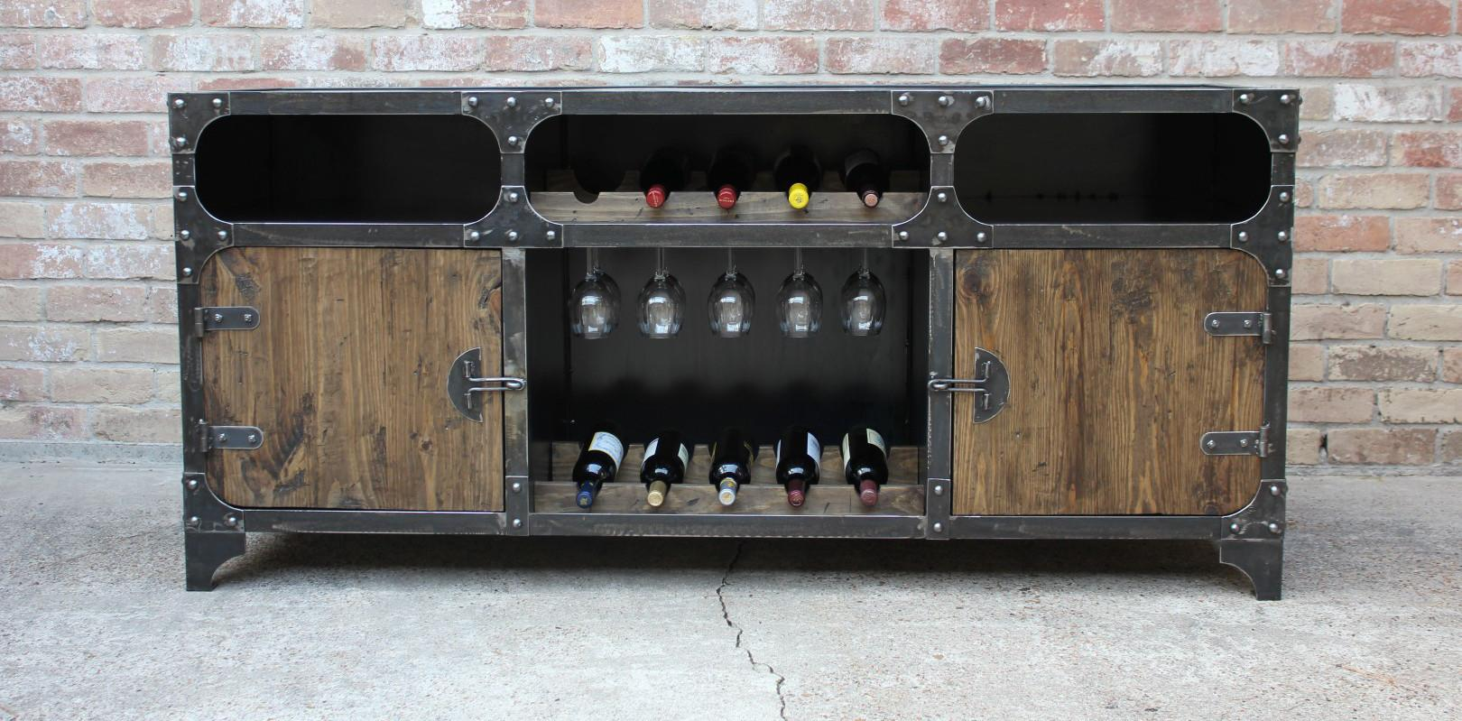 Freightbar Cabinet Modern Industrial Furniture
