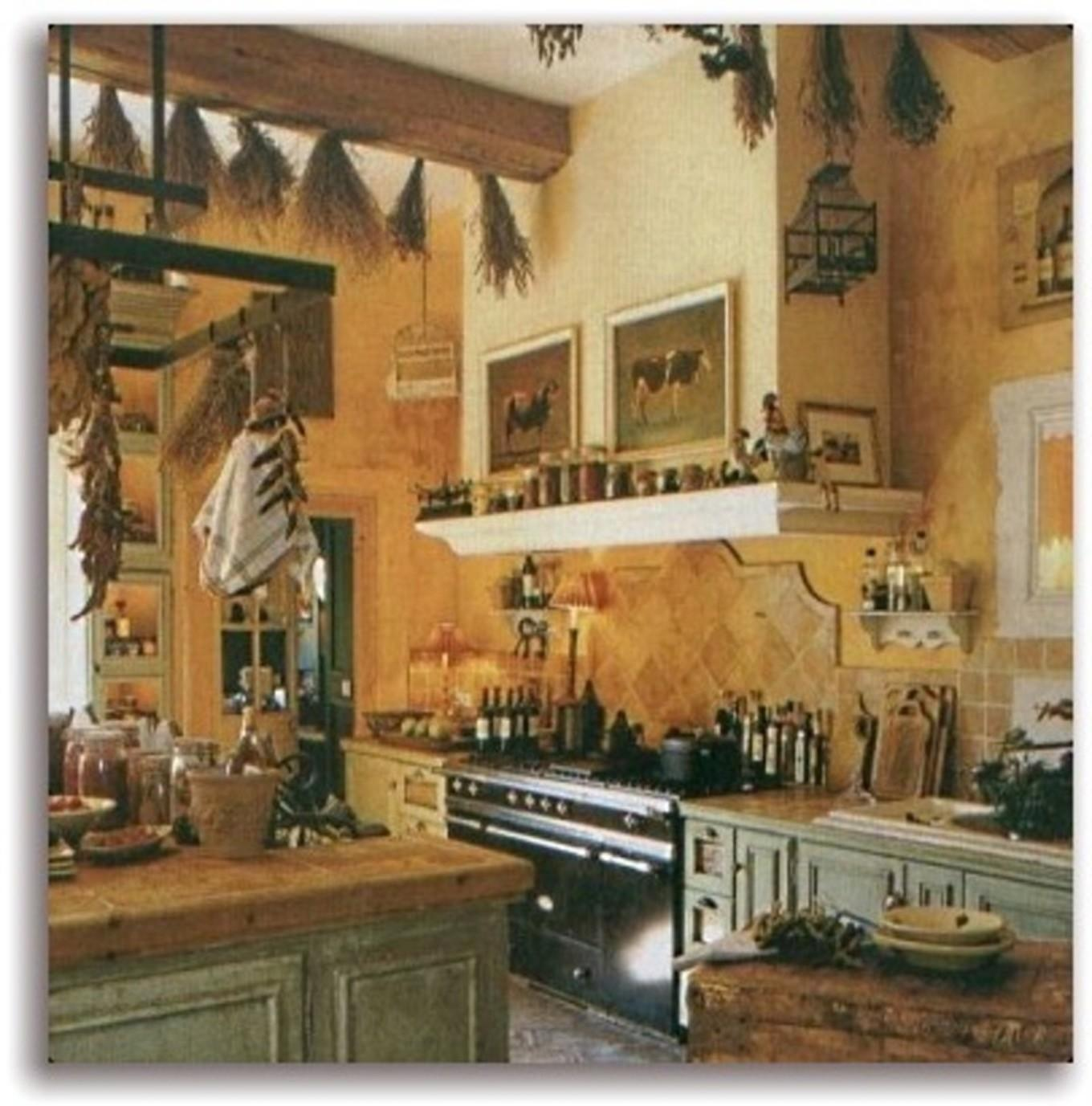 French Country Cottage Decor Kitchen Rooster Motif Stores