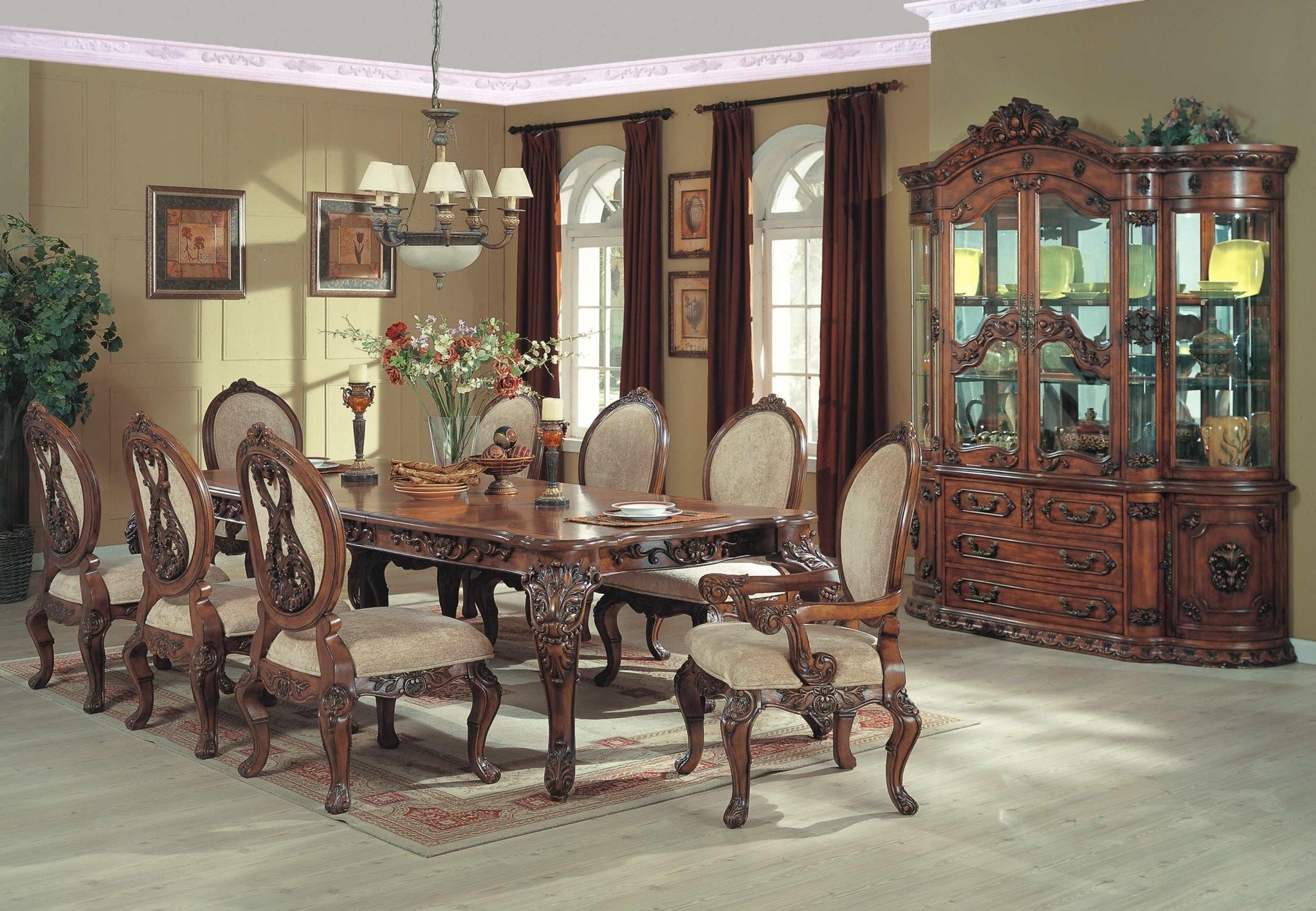 French Country Dining Room Set Formal Collection