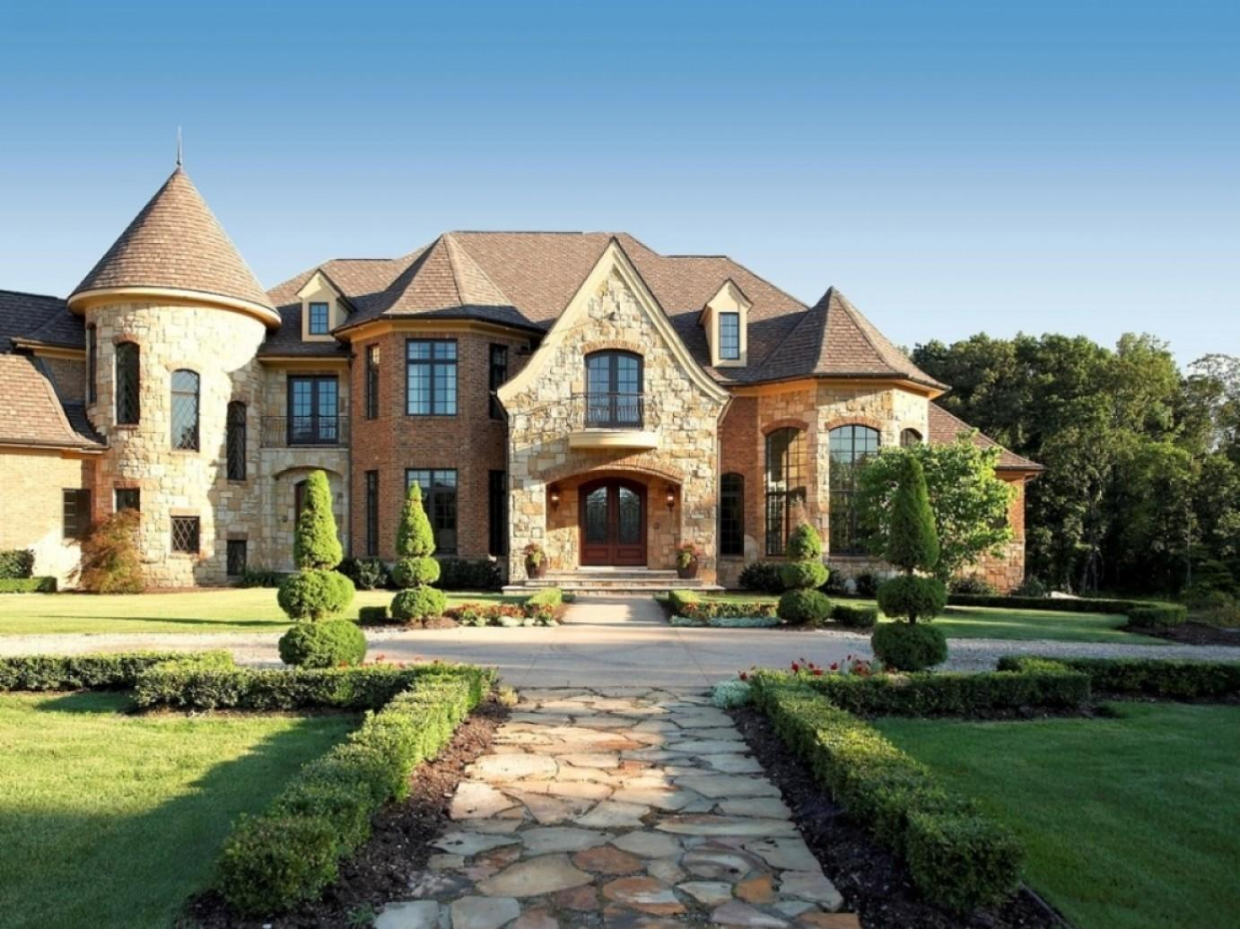 French Country Exterior House Colors Design