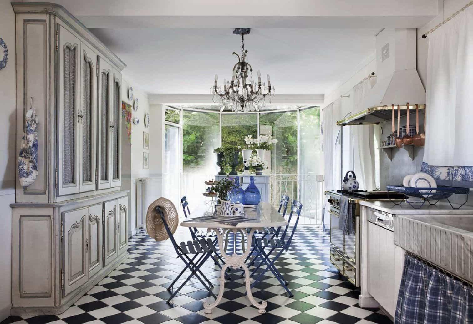 French Country Kitchen Shabby Chic Design