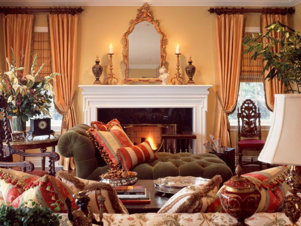 French Country Living Room Decor Decorating