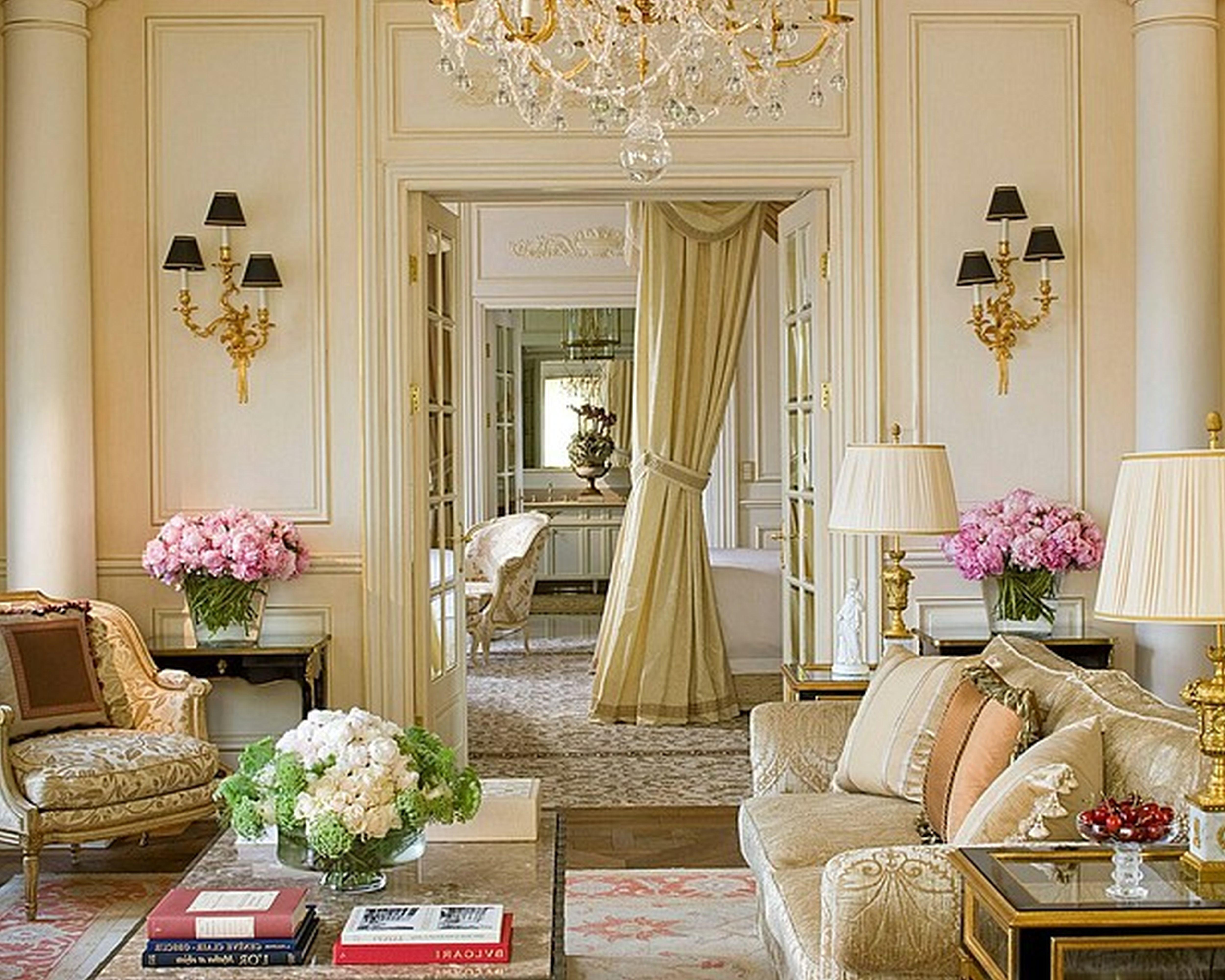 French Country Living Room Decorating Ideas Window
