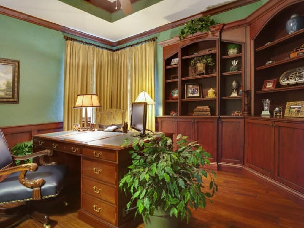 French Country Office Home