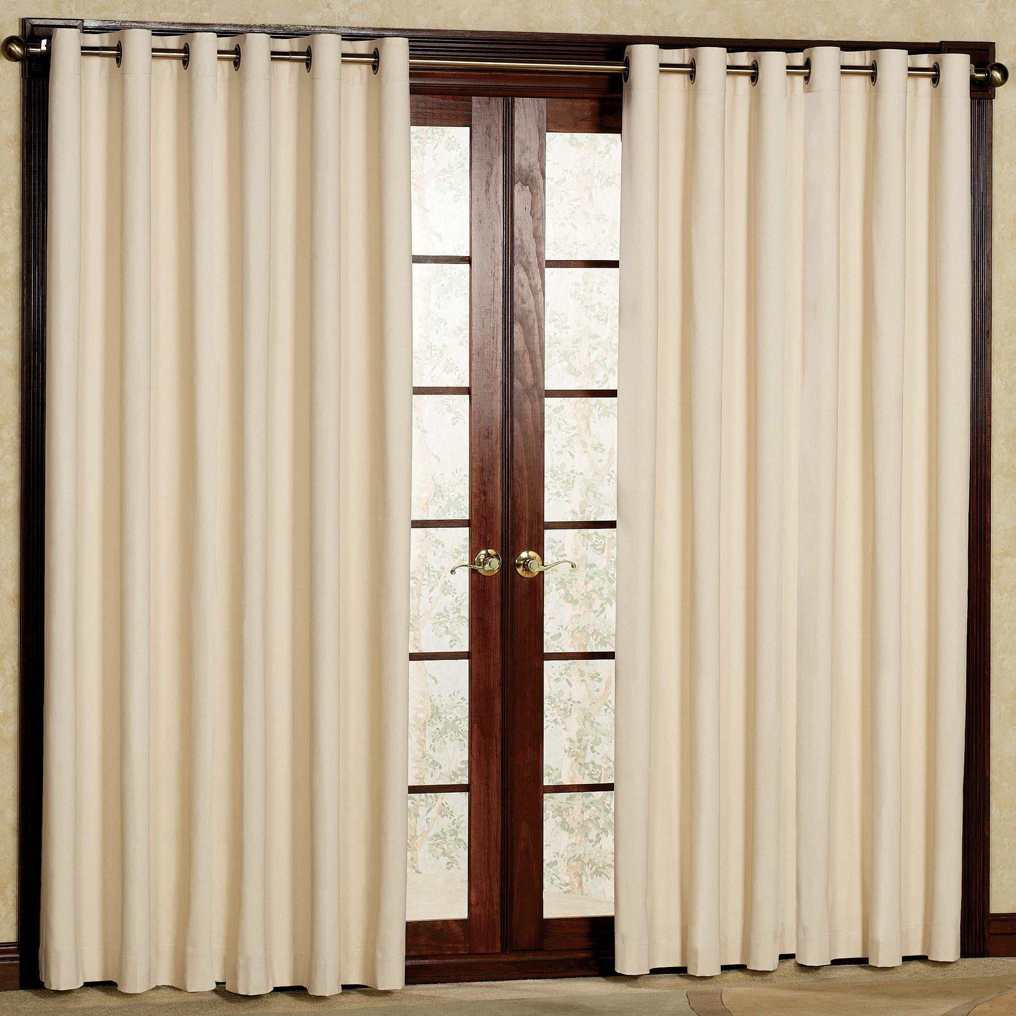 French Door Curtains Ideas Superb