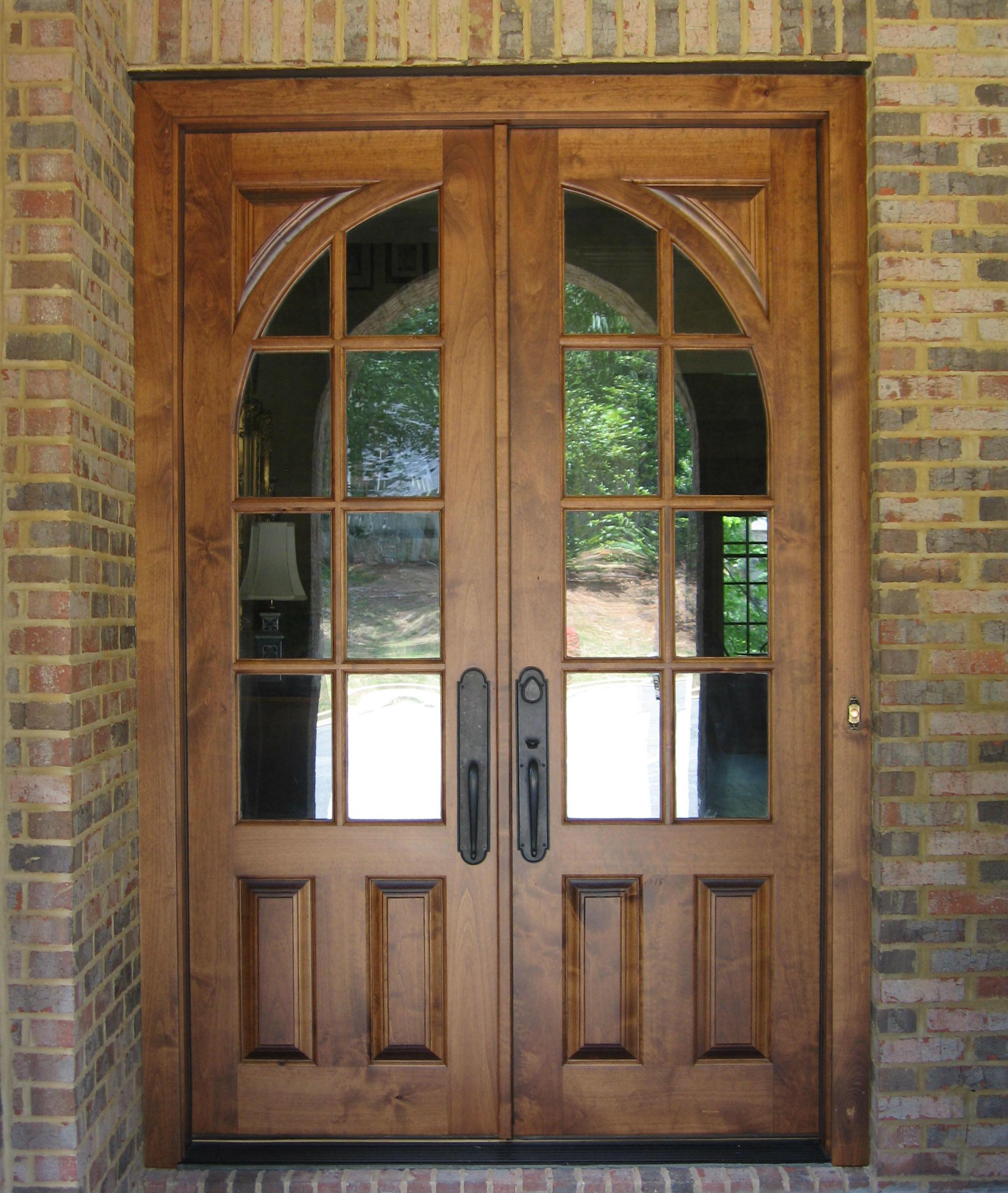 French Doors Exterior Brown