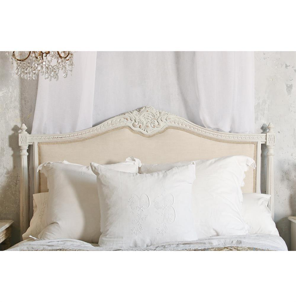 French Headboard Style Bed