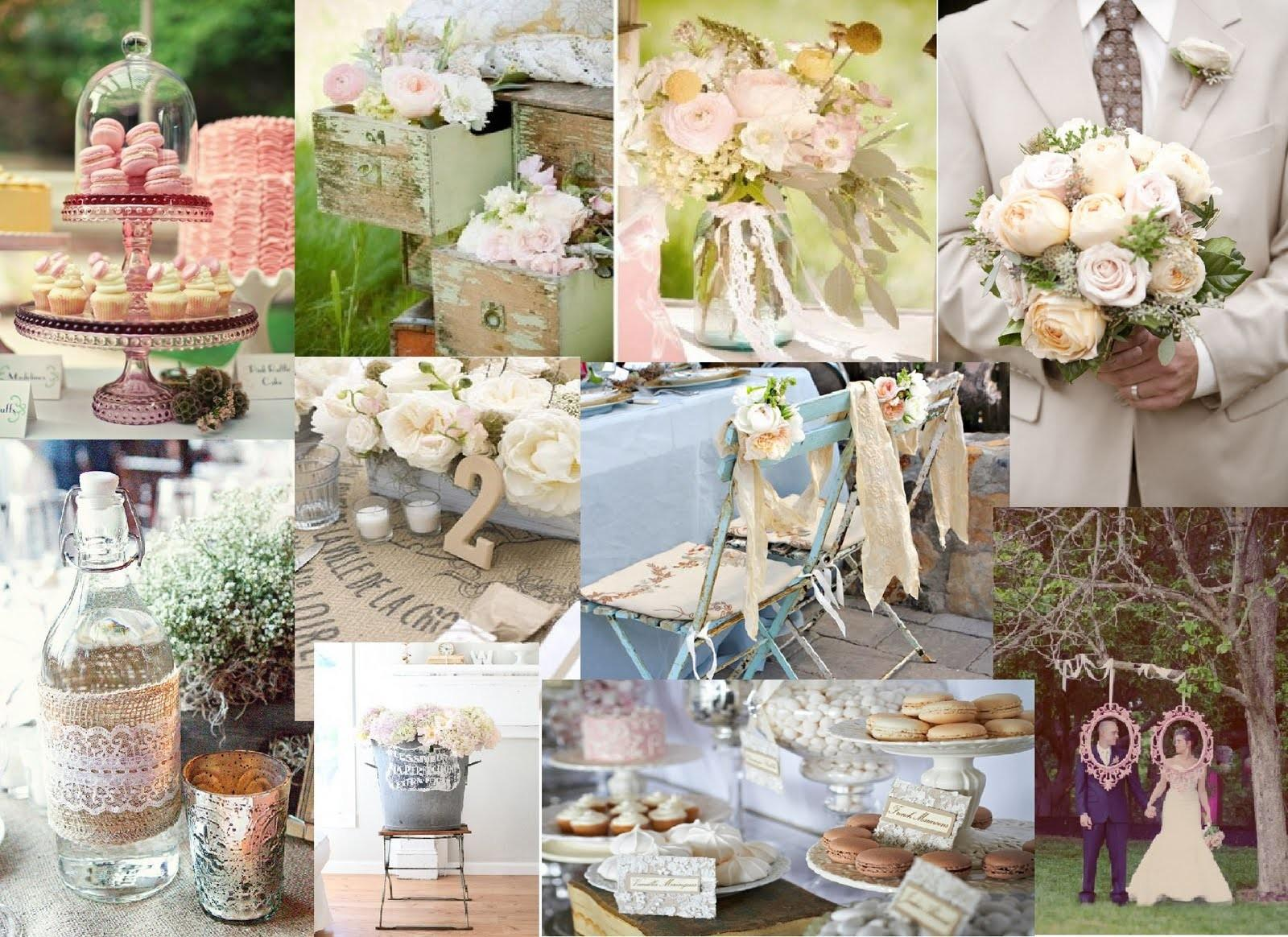 French Inspired Vintage Weddings Wedding Style